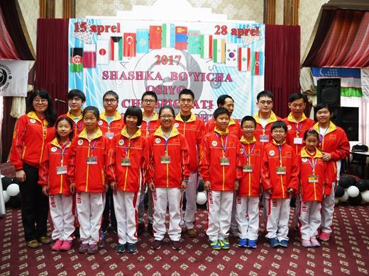 2017年亚洲国际跳棋锦标赛在乌兹别克斯坦开幕